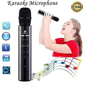 Amazon.com: Karaoke Microphone Wireless Bluetooth speaker