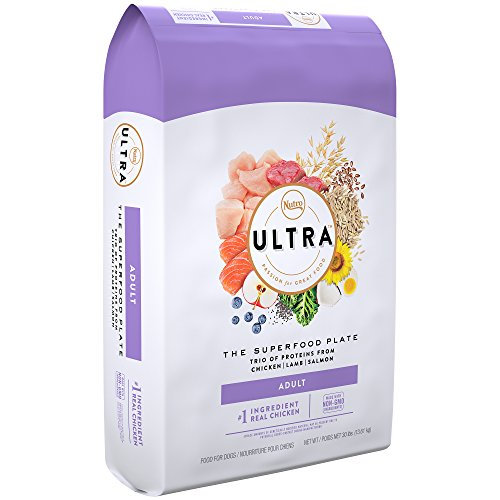 Nutro Ultra Dry Dog Food with A Trio of Proteins from Chicken, Lamb, Salmon