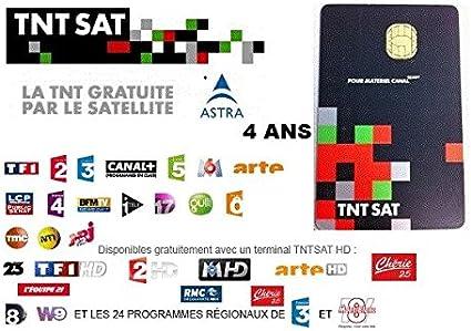 carte tnt sat gratuite TNT Sat Smart Card 4 Years: Amazon.ca: Computers & Tablets