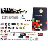 CARTE Neuve TNTSAT 4ans