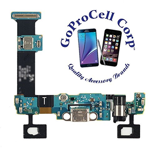 GOPROCELL (TM) NEW USB Charger Charging Port Dock Connector Flex Cable Replacement for Samsung Galaxy s6 edge PLUS T-mobile ( G928T T-MOBILE)