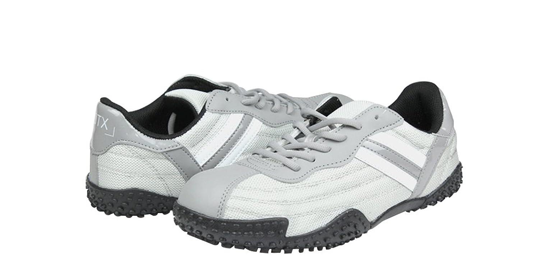 DDTX - Zapatillas de seguridad antidesgaste de acero para hombres(43) afFOhN5k