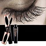 #9: Ginkago 4D Silk Fiber Eyelash Mascara Extension Makeup Black Waterproof Kit Eye Lashes