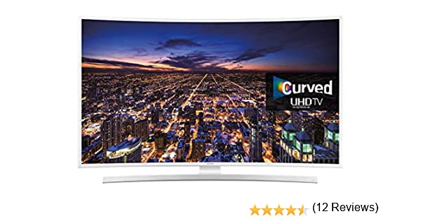 SAMSUNG Series 6 JU6510 4K Ultra HD Smart Curved LED 40 Inch TV ...