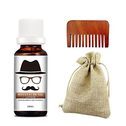 BaiMoon 100% Hot Sale Men Beard Styling Oil Beeswax Natural Moisturizing Smoothing Lords Beard Care Balm 10ml
