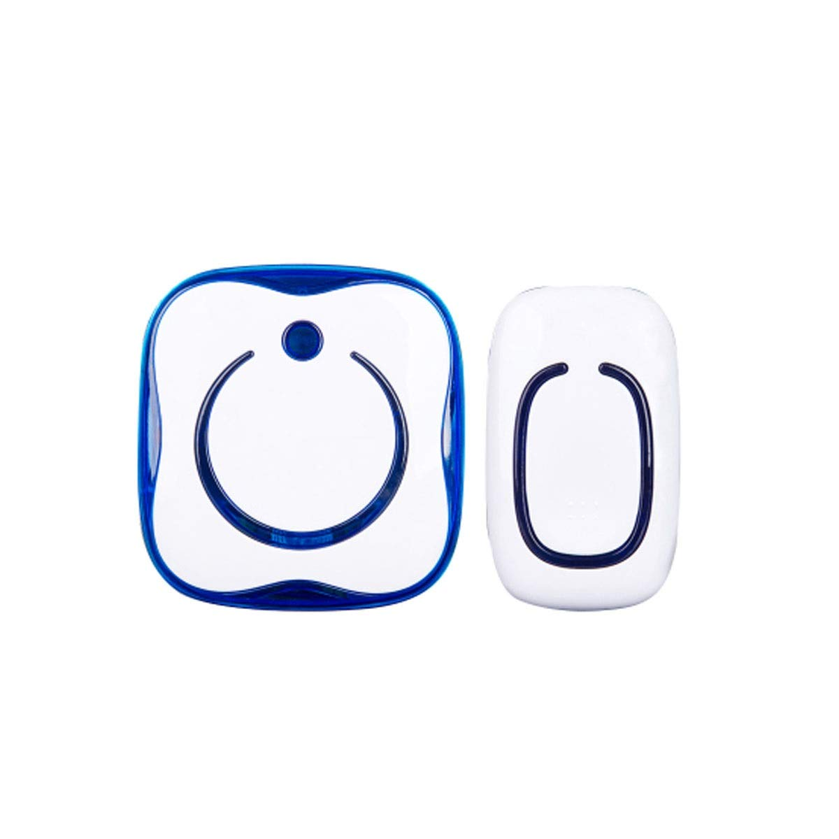 One drag one Doorbell, Smart Wireless Home Ultra Long-Distance Doorbell, Old Caller (White) (Edition   One Drag one)