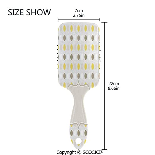 Amazon.com: Hair Brush with Air Cushion Combs Abstract 60s ...