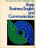 Basic Business English and Communication, Jones, Christopher G., 0130571830