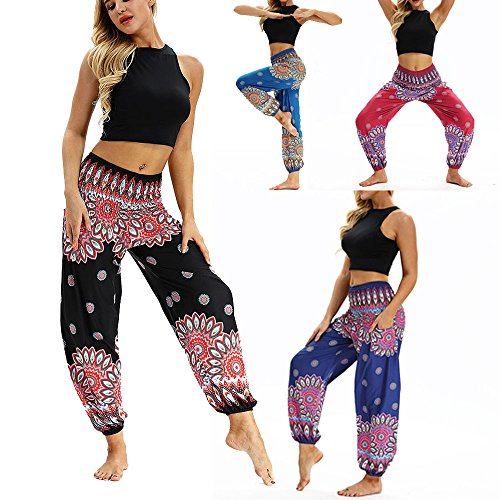 Yoga Larghi Hippy Donna Donna Fitness Boho Pantaloni Pantaloni Aladdin Harem Donna Uomini Tuta Leggings Capri Pantaloni Casual Abbigliamento Morwind Loose Black Donna Sportivi pqZ0qT