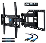 Electronics : Mounting Dream MD2380 TV Wall Mount Bracket for most 26-55 Inch LED, LCD, OLED and Plasma Flat Screen TV, with Full Motion Swivel Articulating Dual Arms, up to VESA 400x400mm and 99 LBS with Tilting