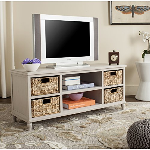 Safavieh American Homes Collection Rooney Vintage Grey Entertainment - Entertainment Vintage Home