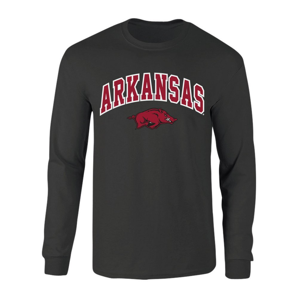 Elite Fan Shop NCAA Mens Short Sleeve T-Shirt Charcoal Arch