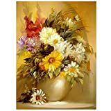 vase resin - ZOOYA DIY Diamond Painting Flower Vase Resin Pasted Cross Stitch for Home Decoration A169