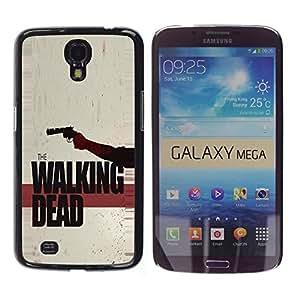 LECELL -- Funda protectora / Cubierta / Piel For Samsung Galaxy Mega 6.3 I9200 SGH-i527 -- The Walking Zombies --