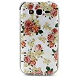 Galaxy Grand Neo Case, StarCity ® Samsung Galaxy Grand Neo i9060 Case, [Shock Absorbent] Flexible TPU Case Skin Gel Protective Cover Case For Samsung Galaxy Grand Neo I9060 / Neo Plus GT-I9060I / Duos i9082 (Flower Series_Rose)