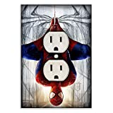 Spiderman Decorative Outlet/Duplex Light Switch Plate Cover