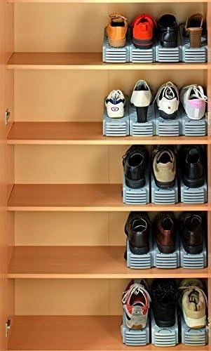 i love dodo Schubido Lot de 2 Chaussures 3 en 1 pour 3 Paires de Chaussures 32 x 24 x 9,5 cm