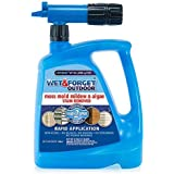 Wet and Forget 805048 Moss, Mold, Mildew and Algae Stain Remover Hose End, 48 oz.