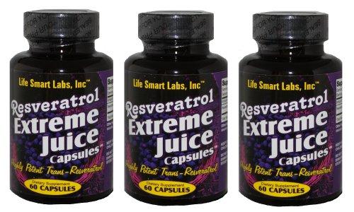 500 mg gélules de resvératrol Juice Extreme capsules de jus de resvératrol TM 3 Mois 180 pilules TRES PUISSANTS pilules Resveratrol pures. GARANTIE 3 MOIS. Deux fois plus puissant que le resvératrol beaucoup, jus de resvératrol Extreme