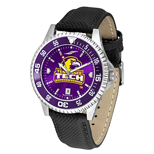 - Tennessee Tech Golden Eagles Competitor AnoChrome Men's Watch - Color Bezel