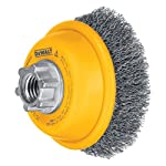 "Dewalt DW4920 3"" Crimped Steel Cup Wire Brush"