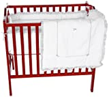 Baby Doll Bedding Unique Mini Crib/ Port-a-Crib Bedding Set, Grey Reviews