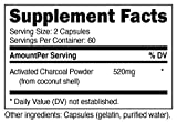 Nutricost Activated Charcoal Powder 1lb - Food