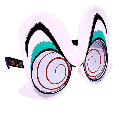 Sun-Staches Costume Sunglasses Cruella De Vil Eyes Party Favors UV400]()