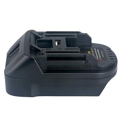 BPS18M Battery Adapter For Black&Decker 20V Lithium For Porter Cable 20V Lithium Battery Convert For MAKITA BL1830 BL1840 18V Battery - - Amazon.com