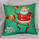 slimmingpiggy christmas pillow covers 20 x 20 inches / 50 by 50 cm best choice for boys,bar seat,indoor,club,kids boys,boy friend with twice sides