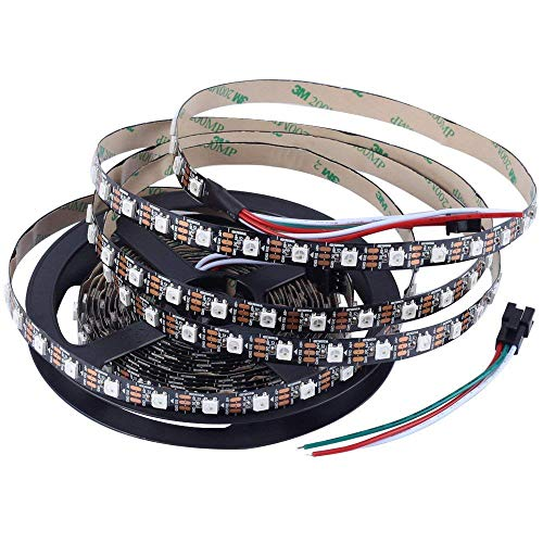 WS2812B Addressable Led Strip 1 Meter 60 Led/1 m | Addressable led strip | ws2812b addressable led strip (for Arduino Non Waterproof) Price & Reviews