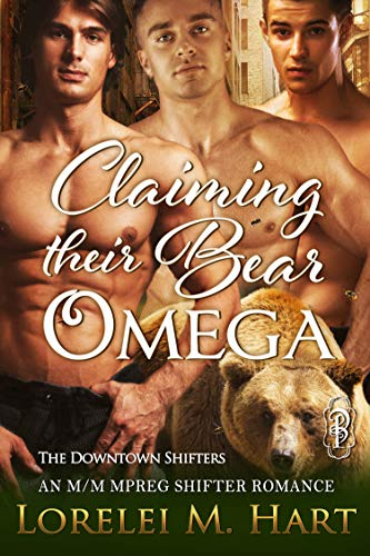 Honey Bee Bear (Claiming Their Bear Omega: An MM Mpreg Shifter Romance)
