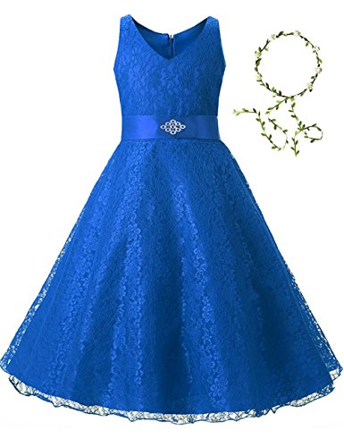 Gorgeous Elegant Long Wedding Party Bridesmaid Princess Gown Pageant Dress,Royal Blue,6