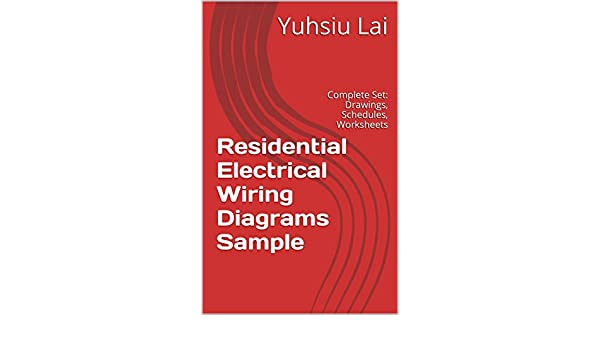 residential electrical wiring diagrams sample complete set rh amazon com New Construction Wiring Basic Electrical Wiring Diagrams