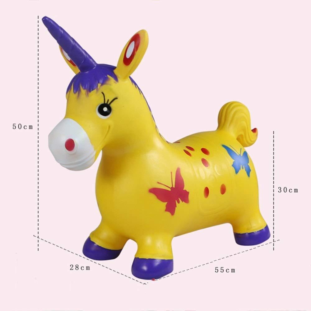 WHTBB Juguetes for niños Jumping Horse Blue Horse Hopper for niños ...