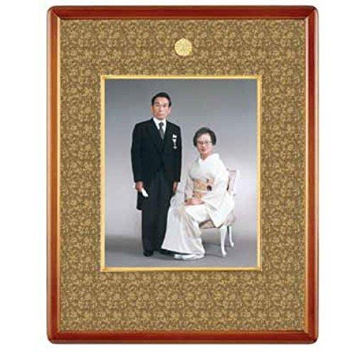 山吹(やまぶき) 写真額四ツ切 YK-04 B07915BXFC和室用金具