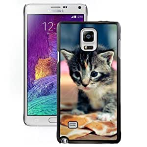 Cartoon Anime Cute White Phone Case for For Samsung Galaxy Note 4 Cover