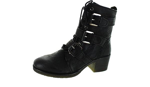 Carmela 065900 Botín De Mujer 065900 PIEL Mujer Negro 35: Amazon.es: Zapatos y complementos