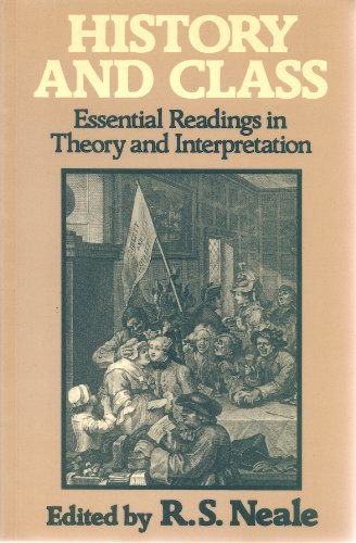 History and Class: Essential Readings in Theory and Interpretation