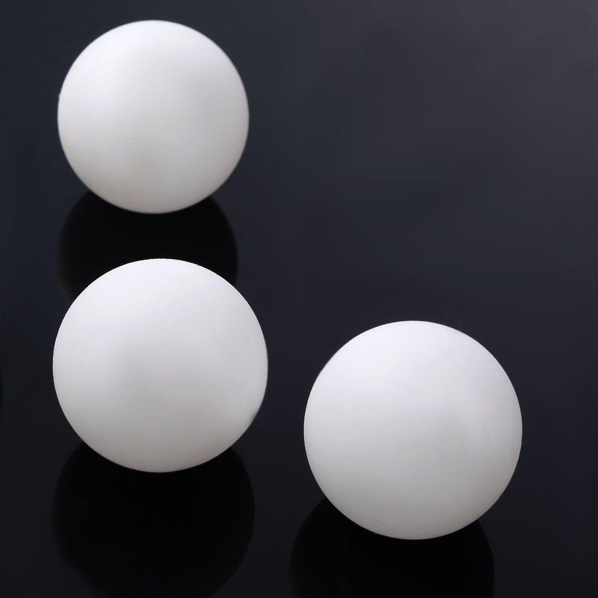 COLIBROX-Practice Ping Pong Balls,Pack of 144 Balls,Table Tennis Bee Ball Cainval Game Material: Celluloid Color: White / Orange (optional) Quantity: 100pcs Star rating: 3 star