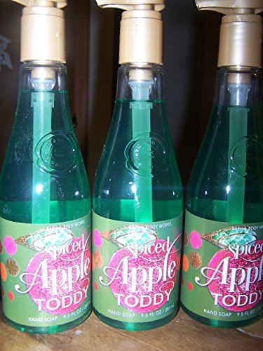 Lot of 3 Bath & Body Works Spiced Apple Toddy Hand Soap 9.5