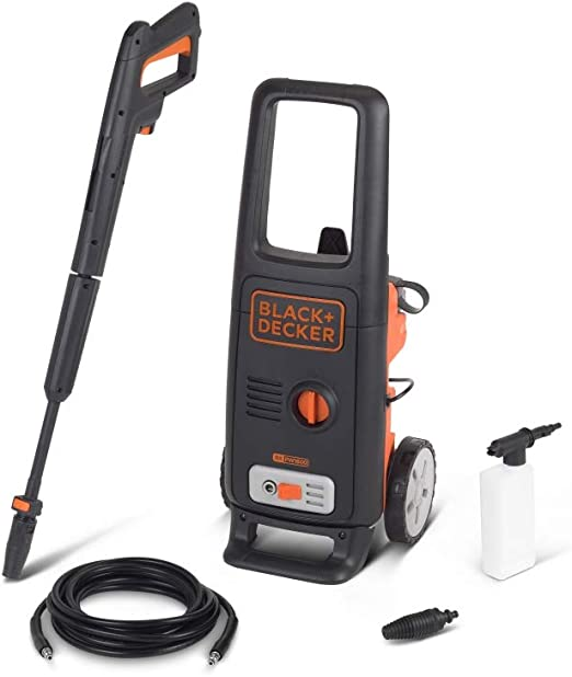 Black Decker Bxpw1600e Hochdruckreiniger 1600 W 125 Bar 420 L H Baumarkt