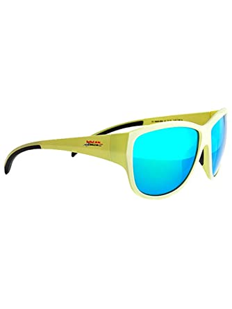 Herren Sonnenbrille Red Bull Racing Eyewear NANI apple-green/grey rubber 3g62S1