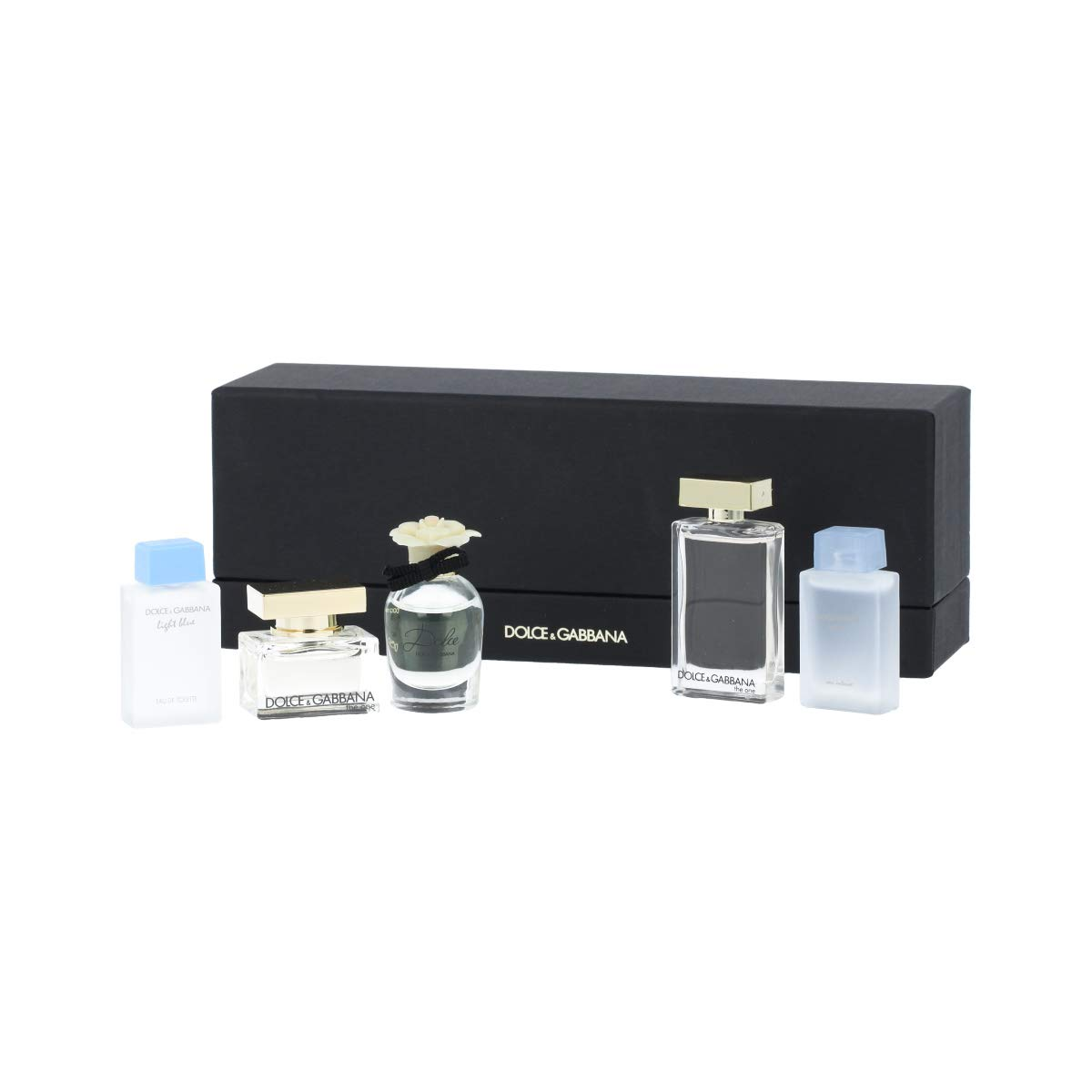 Dolce & Gabbana by Dolce & Gabbana, 5 Piece Mini Set for Women