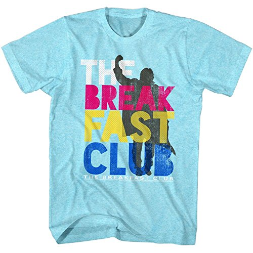 American Classics Breakfast Club - Colorforbreakfast - Neon Blue Heather - S Shirt
