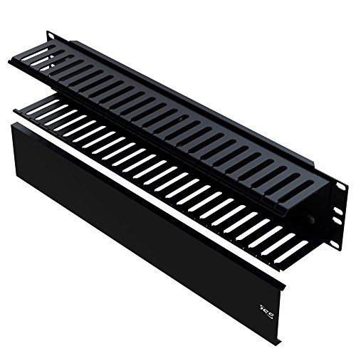 [해외]ICC 패널, 전면 핑거 덕트, 24 슬롯, 2 RMS/ICC Panel, Front Finger Duct, 24-Slot, 2 RMS