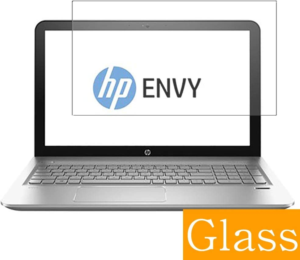 """Synvy Tempered Glass Screen Protector for HP Envy m6-ae100 / ae151dx 15.6"""" Visible Area Protective Screen Film Protectors 9H Anti-Scratch Bubble Free"""