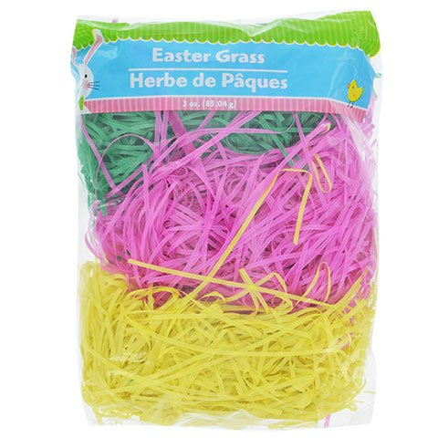 Easter Grass Tricolor - 3 oz Bag (pack of 2) Greenbrier 111816