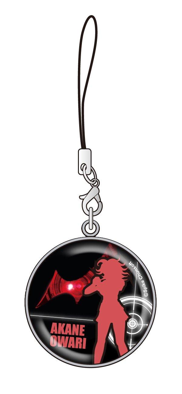 09 rouge son dernier-ri r?futer superbe Dangan 2 cristal D?me Strap # (japon importation)