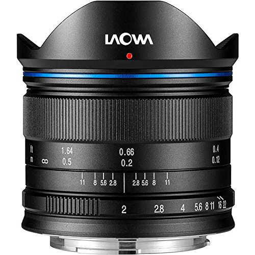 laowa ve7520mftstblk–7.5mm Lens for Micro 4/3Cameras (16.9MP, HD 720p) Black by LAOWA (Image #4)